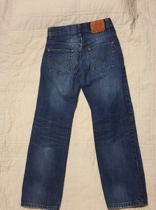 Levi' 505 Regular Jeans Boys 26 x 26
